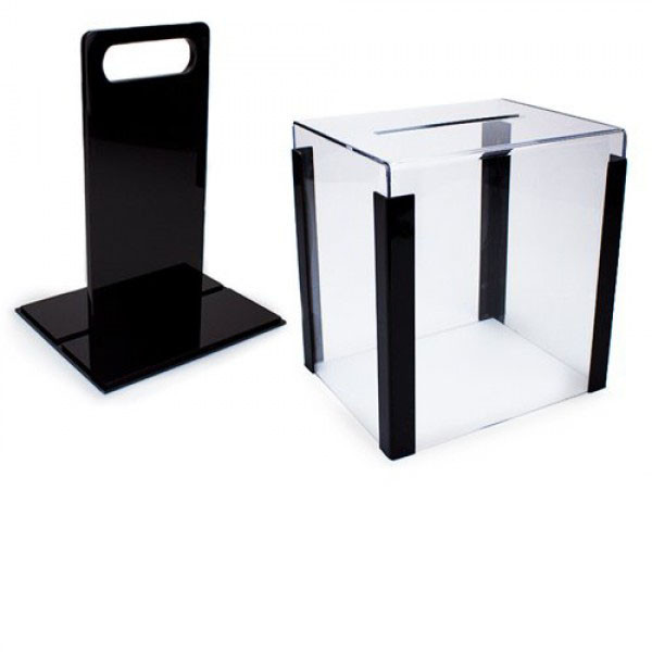 1000 Chip Clear Poker Chip Carrier