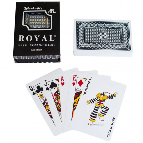 Blue Royal Plastic Playing Cards