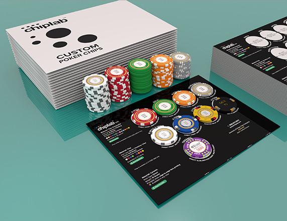 Poker Chip Samples Left