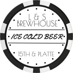 Ice Cold Beer Drink Token