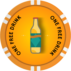 Art Deco Beer Drink Token