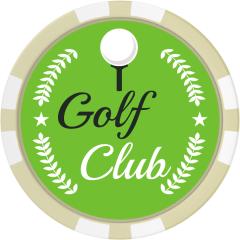 Golf Club Wreath