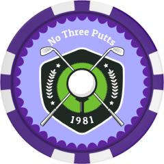 Golf Tourney Badge