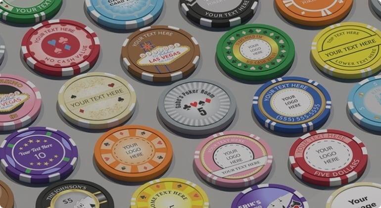 Description of how we make custom poker chips